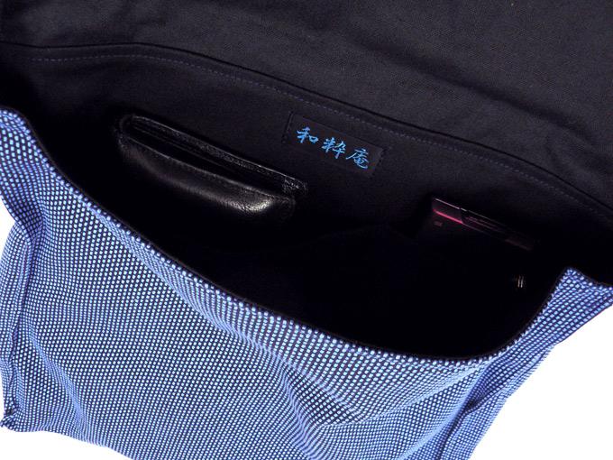 作務衣用 頭陀袋 内側ポケット2個付