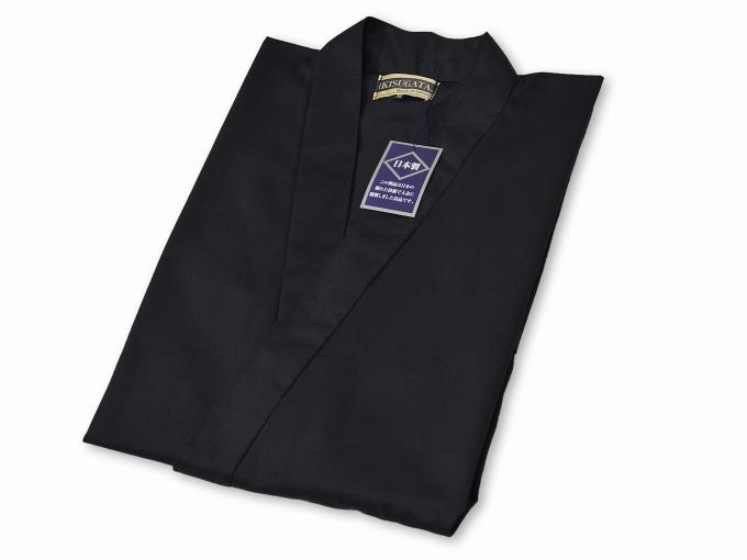 綿ポリ綾織作務衣 畳んだ状態