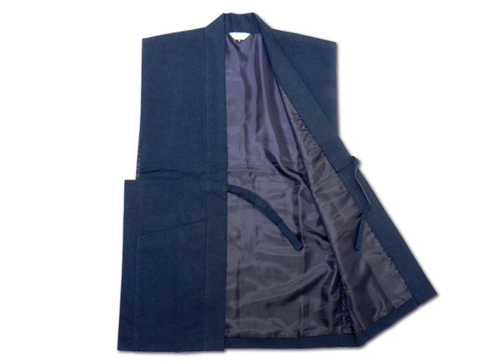 大柄ドビー刺子・作務衣用羽織