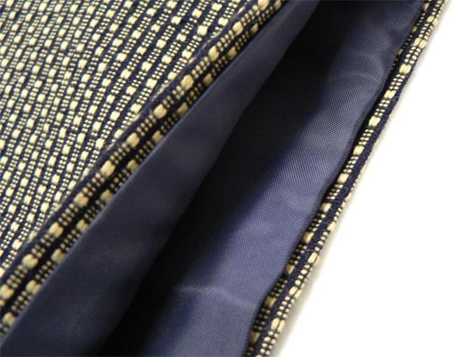 大柄ドビー刺子・作務衣用羽織 茶