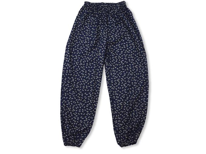 女性総柄作務衣 トンボ(とんぼ)ズボン
