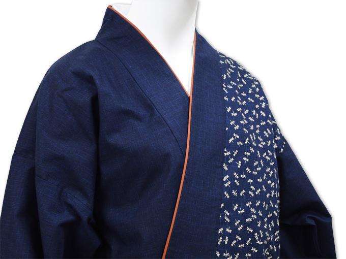 女性片柄作務衣 トンボ(蜻蛉)ズボン