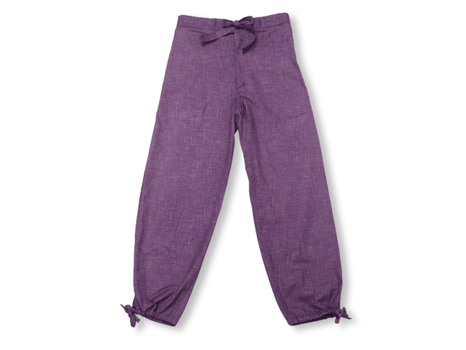 絣紬作務衣(かすりつむぎさむえ) ズボン