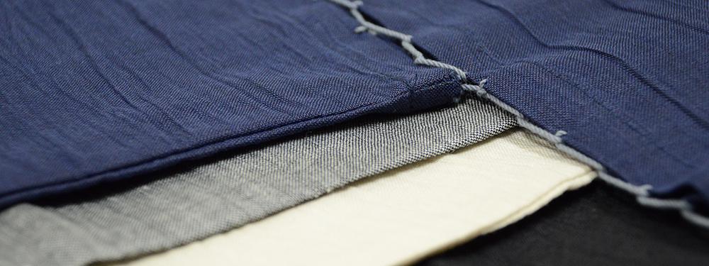 本麻楊柳甚平(日本製) まるで絹のような滑らかな生地
