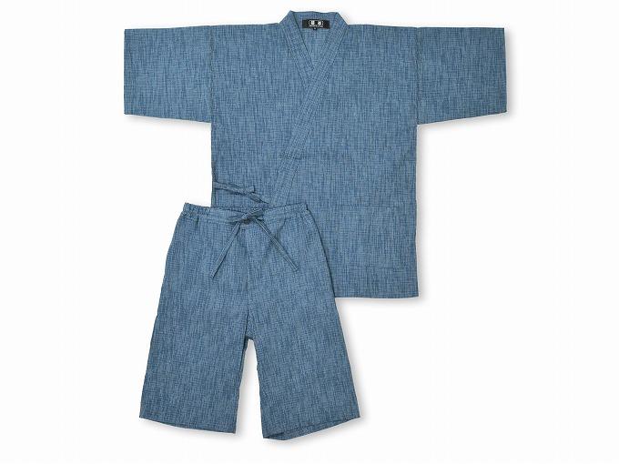 綿楊柳柄甚平(日本製) No.1