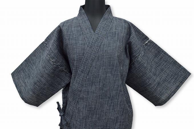 綿楊柳柄甚平(日本製) No.2 畳み