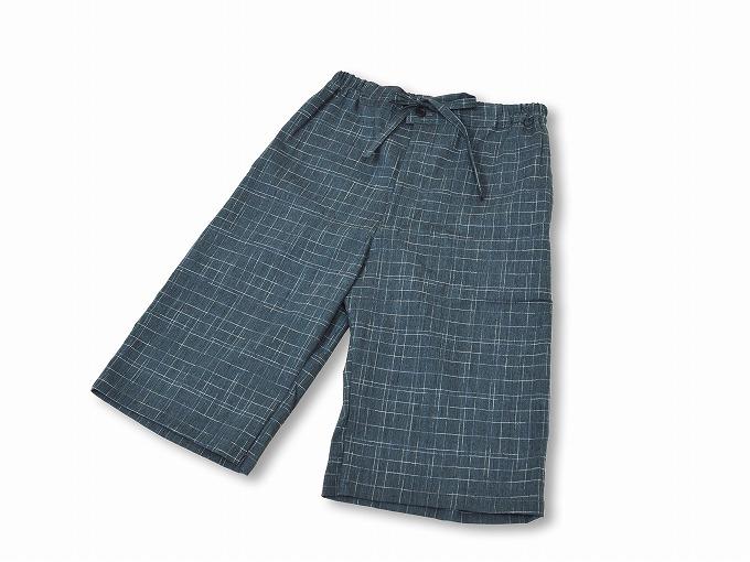綿楊柳柄甚平(日本製) No.4 ズボン