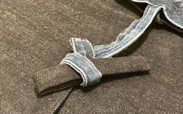 5年目のカイハラデニム作務衣