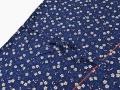 女性総柄作務衣 絣桜(かすりざくら)紺紐部分
