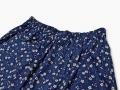 女性総柄作務衣 絣桜(かすりざくら)紺ズボンウエスト
