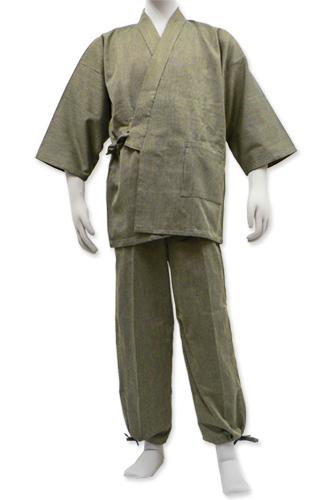 和粋庵 日本製小柄ドビー作務衣