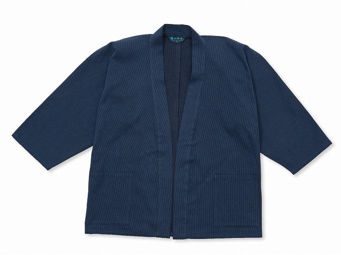 刺子織ジャケット 濃紺