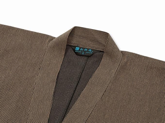 刺子織ジャケット 上着袖