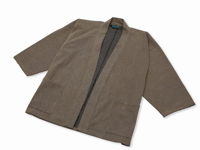 刺子織ジャケット 茶