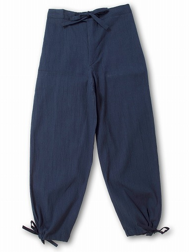 綿麻楊柳作務衣 ズボン