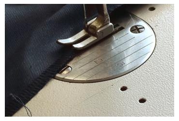 「縫製」 作務衣の製作工程
