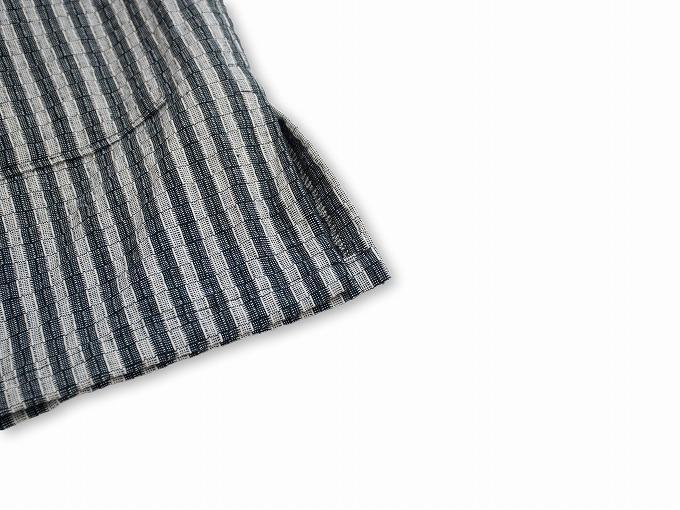 綿しじらデザイン作務衣