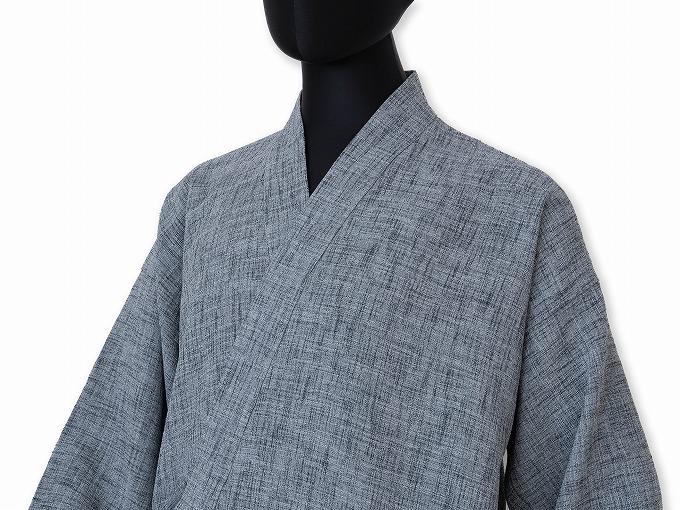 麻ライク作務衣 日本製 マネキン着用