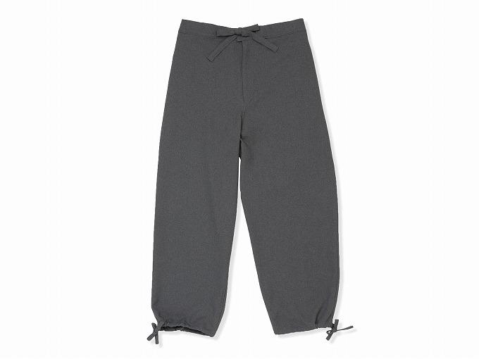 ウールライク作務衣 ズボン