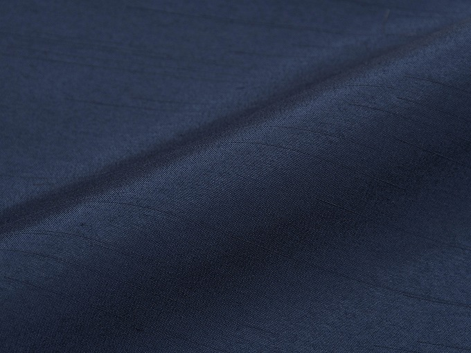 シルクライク紬裏地付作務衣 日本製 生地拡大