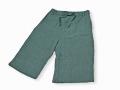 本麻楊柳甚平(日本製) グリーン ズボン