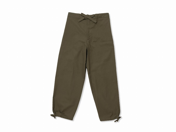 武州くちなし染作務衣 ズボン