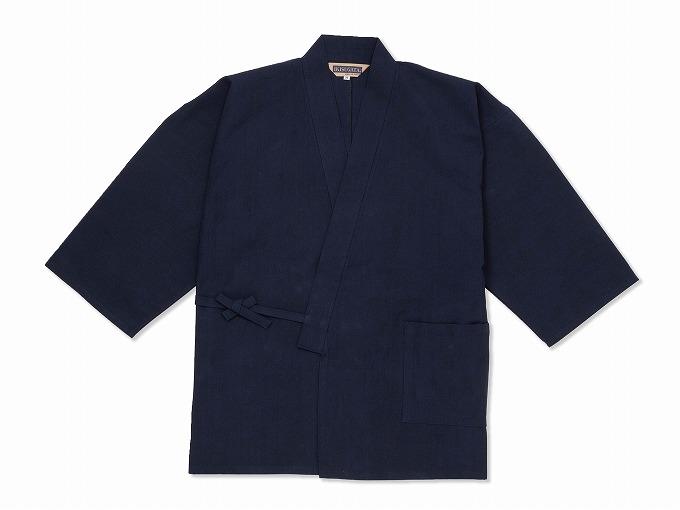遠州本藍染作務衣 日本製