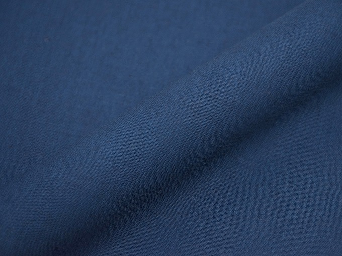 綿麻インディゴ染作務衣 濃紺