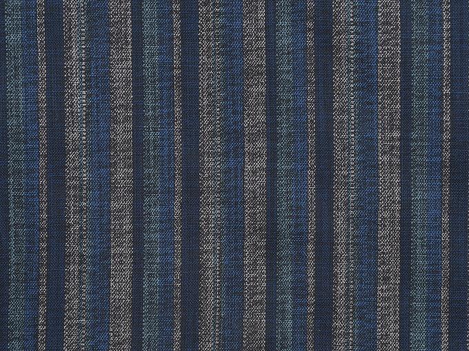 織縞模様綿入袢天 生地