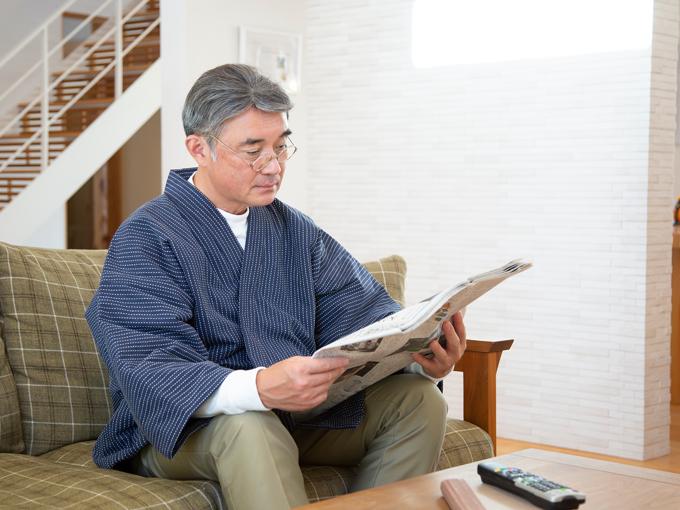 刺子織作務衣式綿入れ袢天 イメージ写真