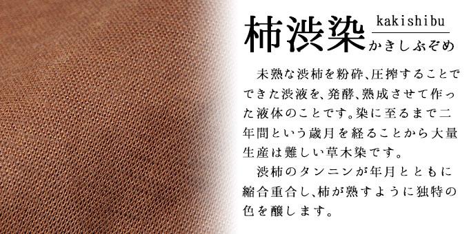 本柿渋頭陀袋