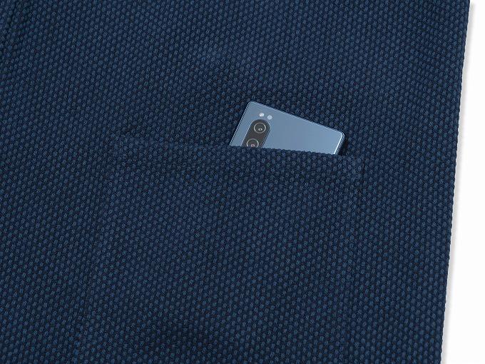 太刺子ジャケット 上着ポケット部分