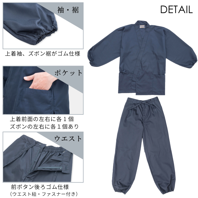 ゴム式T/Cバーバリー織