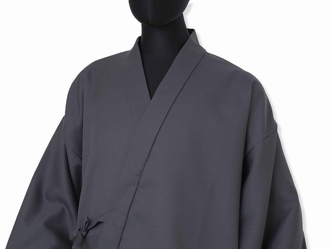 裏綿二重織ストレッチ作務衣[聖] 着用イメージ