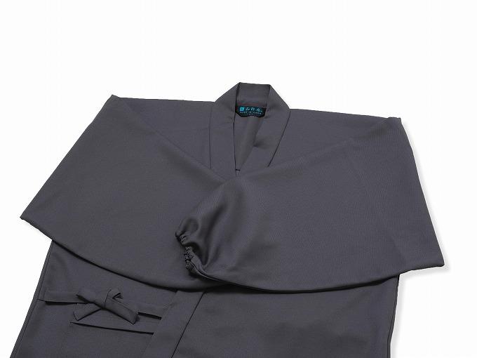 裏綿二重織ストレッチ作務衣[聖] 上着袖