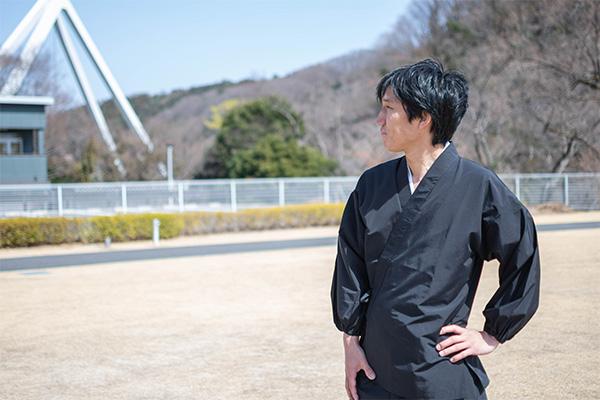 袖・裾ゴム式撥水高機能作務衣 日本製