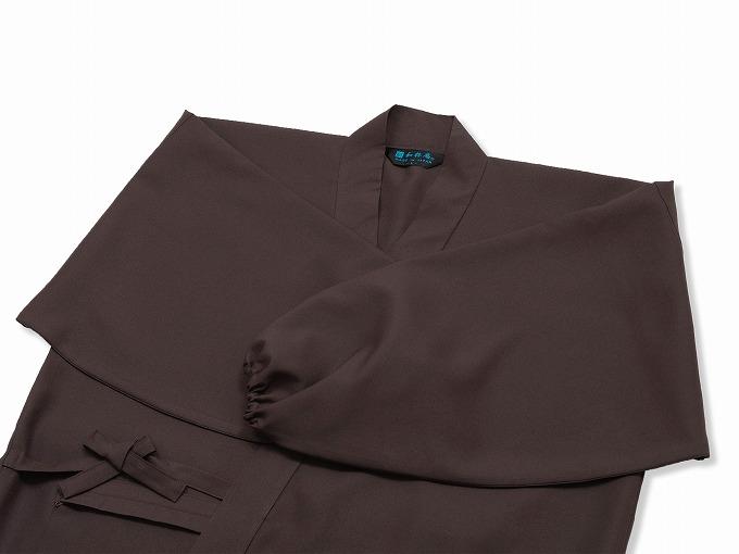 ストレッチツイル作務衣 上着袖
