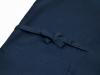 綿ポリ綾織作務衣 濃紺上着紐部分
