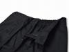 綿ポリ綾織作務衣 ズボンウエスト衿部分