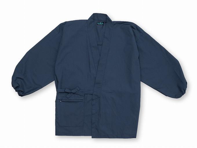 【日本製】 多機能袖裾ゴム式作務衣 【和粋庵】 上着