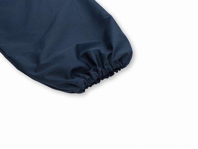 【日本製】 多機能袖裾ゴム式作務衣 【和粋庵】 ゴム袖部分