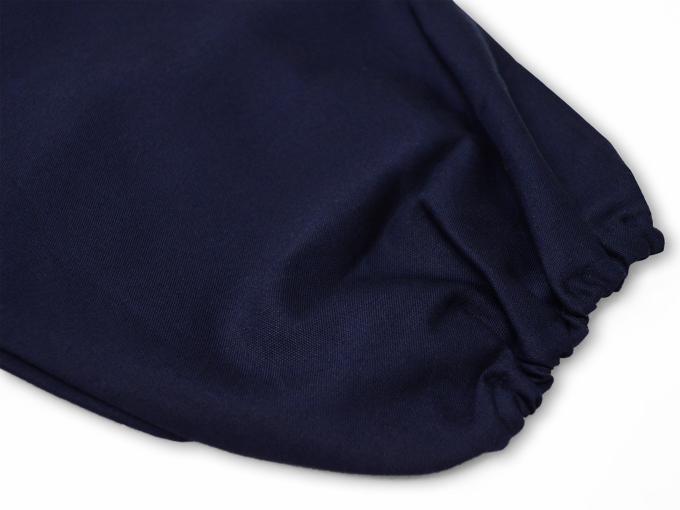 ななこ織作務衣 ズボン裾