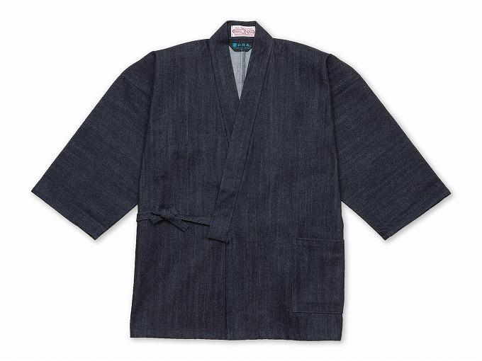カイハラデニム作務衣 日本製
