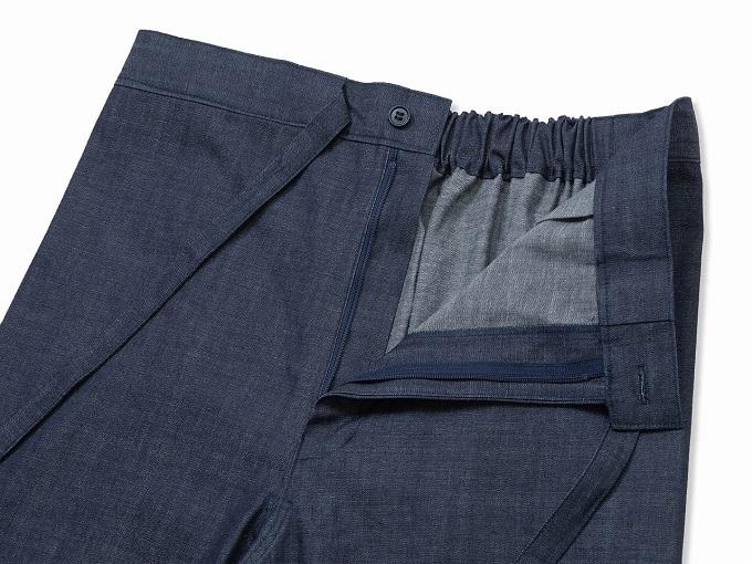 カイハラデニム・6オンス作務衣  日本製 ズボン