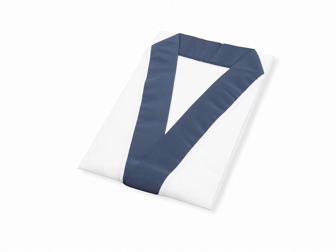 作務衣用Tシャツ半襦袢 NO.1 濃紺 畳んだ状態