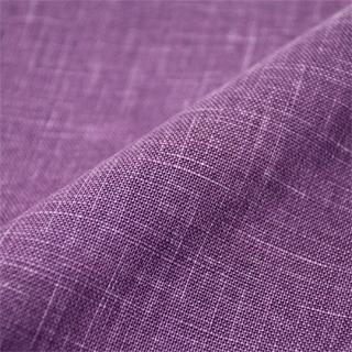 絣紬作務衣 17番色古代紫