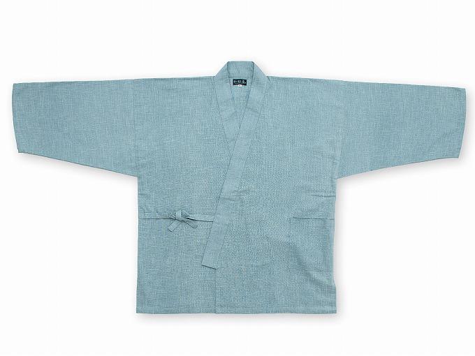 絣紬作務衣