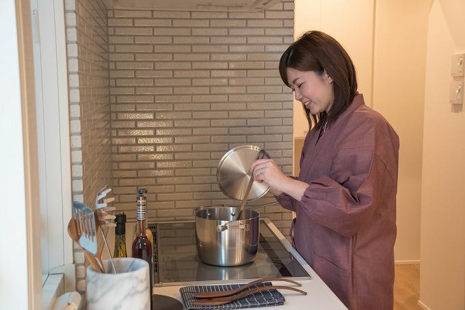 女性絣紬 水屋着 イメージ