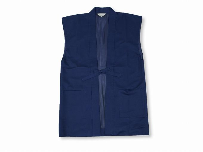 作務衣用羽織(綾織)濃紺