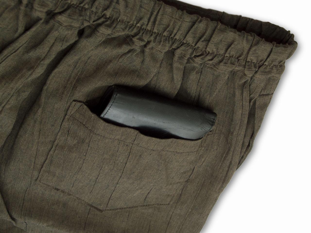 ズボン後ろポケット部分